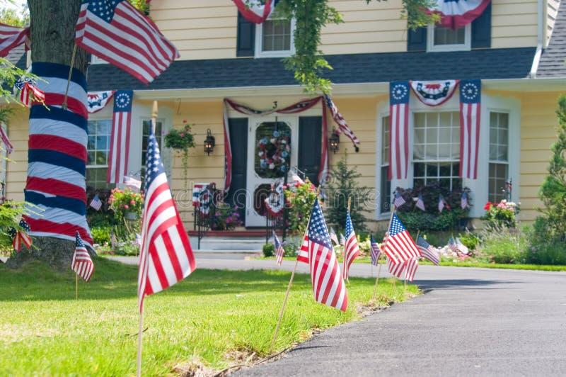 Feiern Sie Unabhängigkeitstag stockfotografie