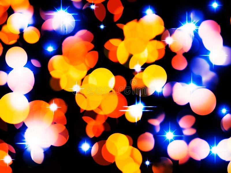 Feiertag beleuchtet Hintergrund vektor abbildung