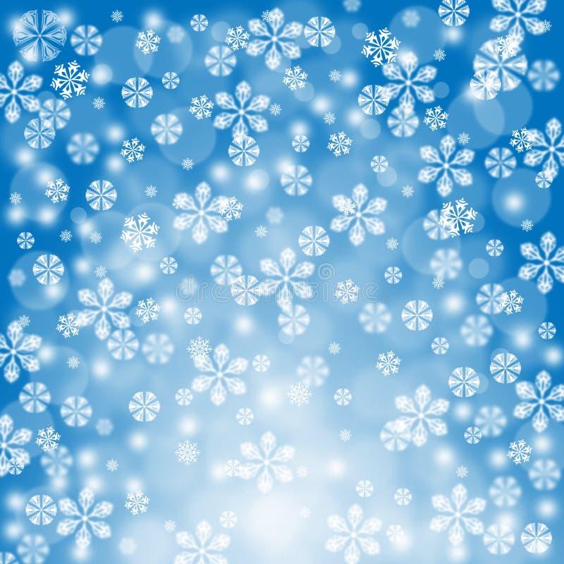 Feiertag Hintergrund des neuen Jahres Weihnachts stock abbildung