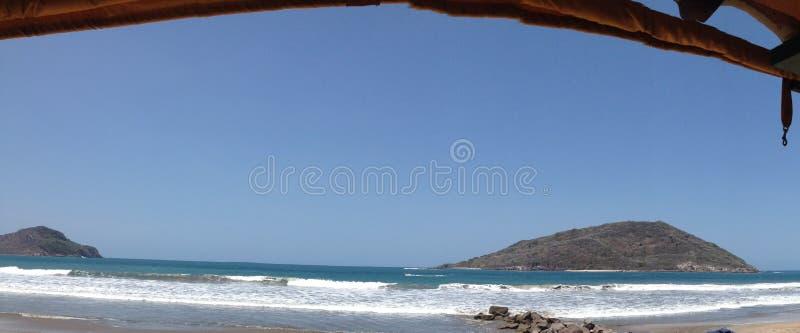 Feiertage auf dem Strand stockfoto
