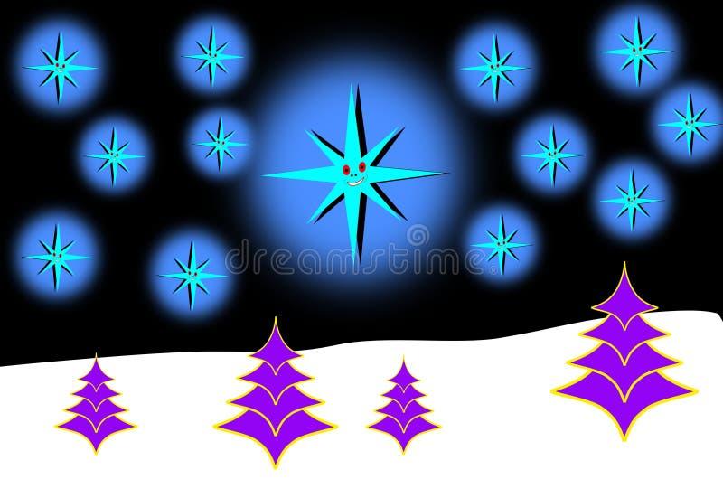 Feiertage der frohen Weihnachten lizenzfreie abbildung