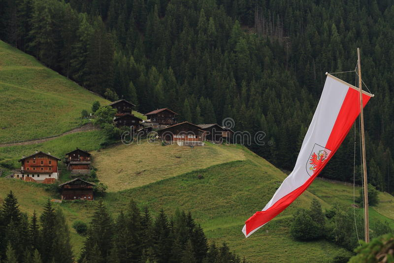 Feiertage in Italien besitzen die Alpe lizenzfreies stockfoto