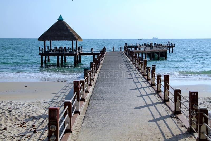 Feiertage in Kambodscha schöne Ansicht vom Strand Ehrfürchtige Welt der Reise Sommerrest stockfotografie