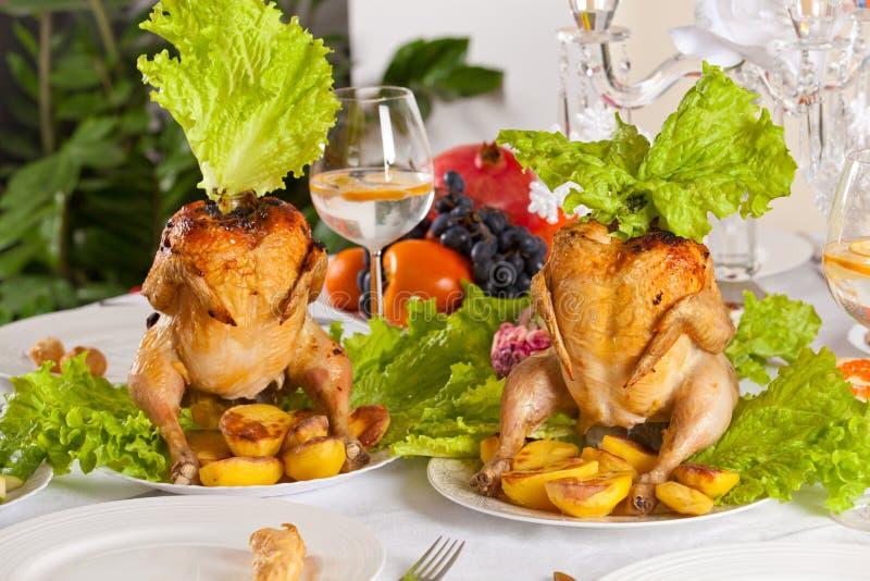 Feiertags-Abendessen lizenzfreies stockfoto