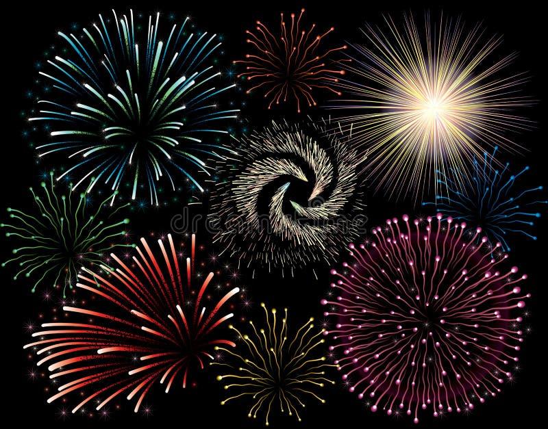 Feiertags-Feuerwerk Stockbilder
