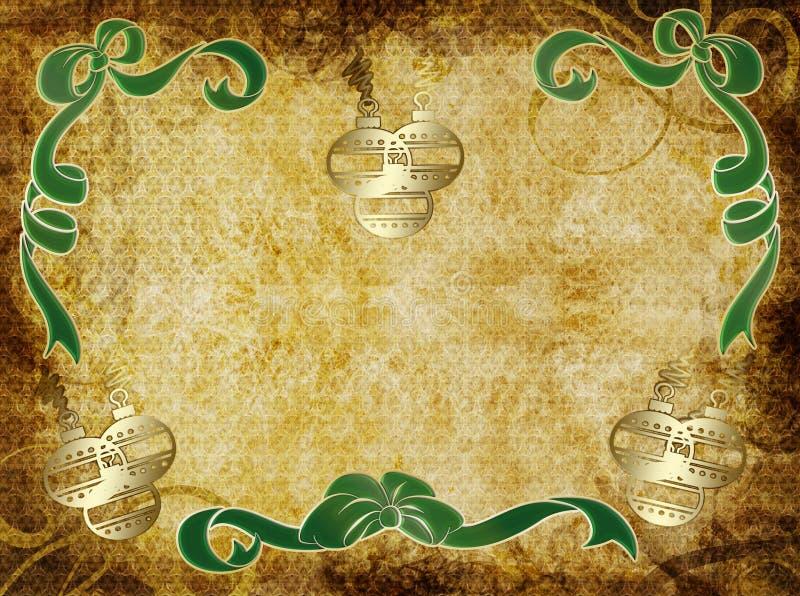 Feiertags-Pergament stock abbildung