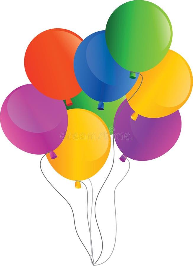 Feiertags-vektorballone vektor abbildung
