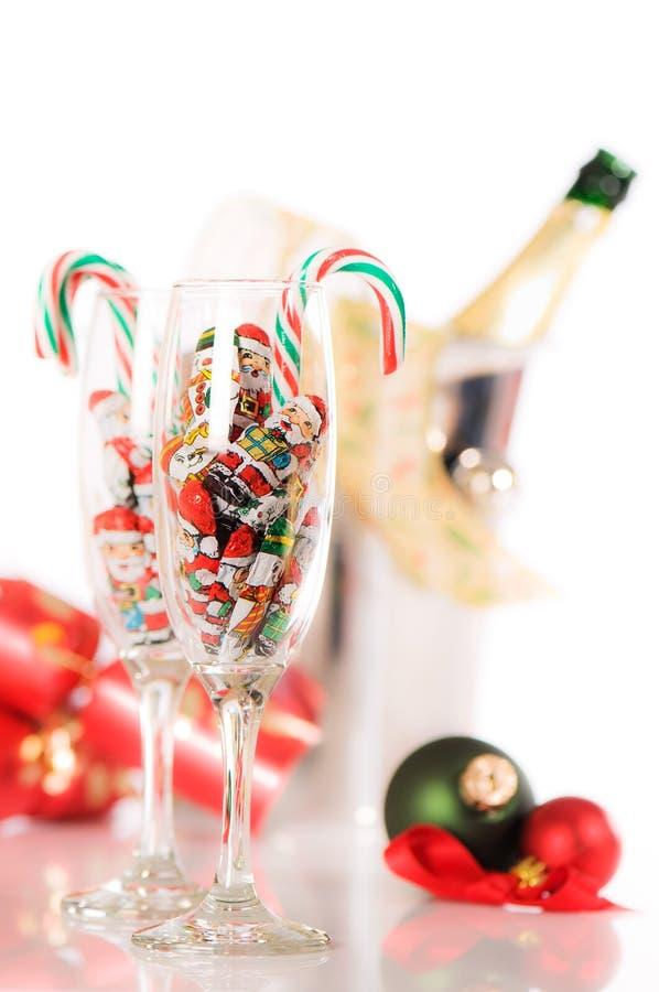 Download Feiertags-Zeit stockbild. Bild von champagner, schein - 12200537