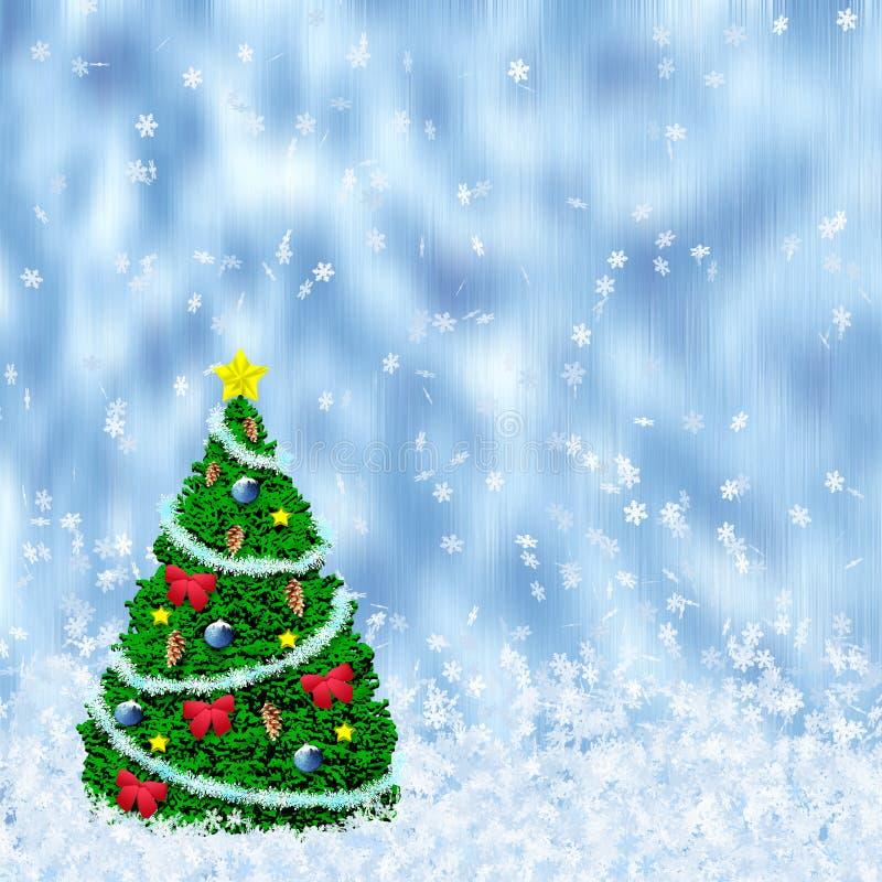 Feiertagsbaum lizenzfreie abbildung