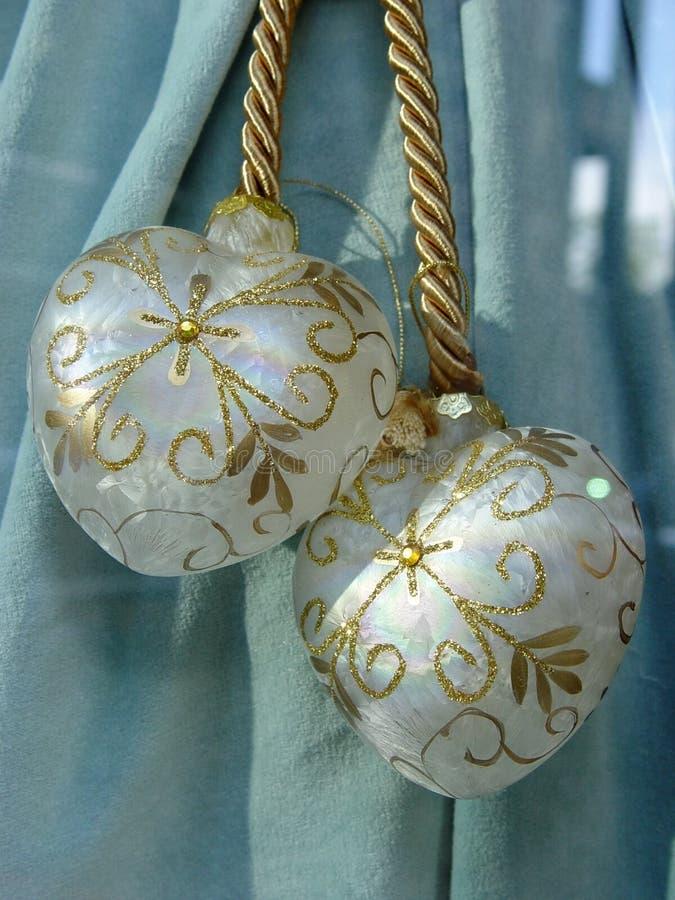 Download Feiertagsdekorationen stockfoto. Bild von golden, empfindlich - 35378