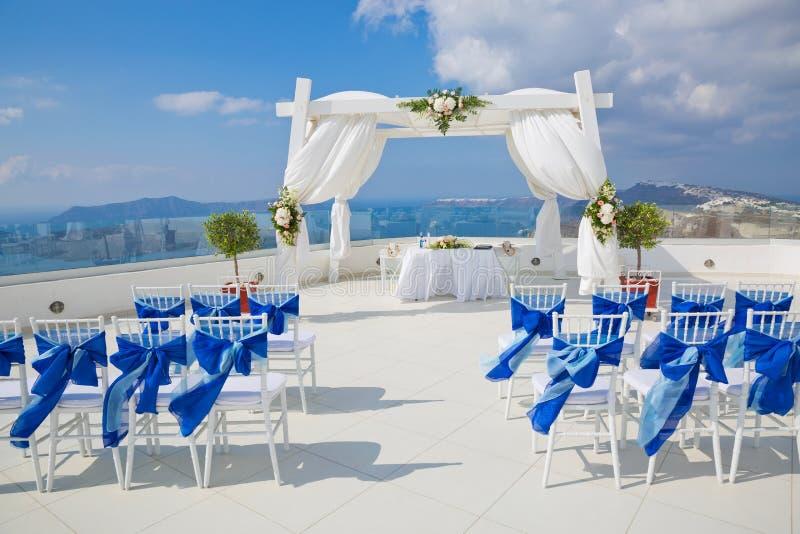 Feiertagsdekorationen für die Hochzeit lizenzfreie stockfotos