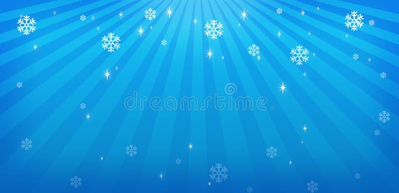Feiertagsschneeflocken stock abbildung