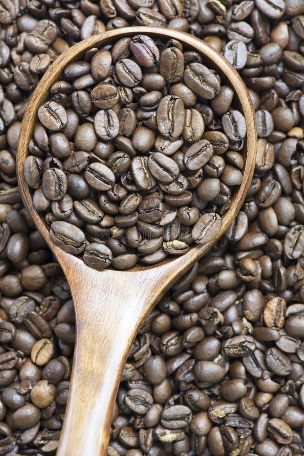 Feijão de café inteiro Roasted fotos de stock
