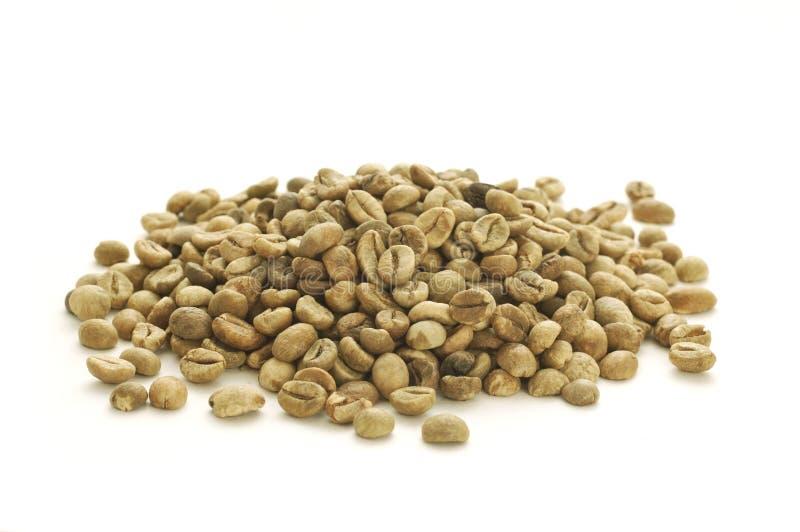 Feijão de café verde fotos de stock royalty free