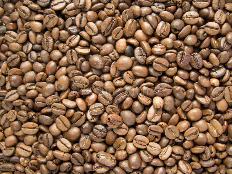 Feijões de café fotos de stock