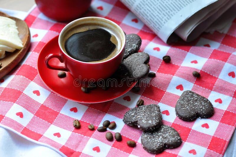 Feijões de café, café, bebida, alimento, doces, café da manhã imagens de stock royalty free