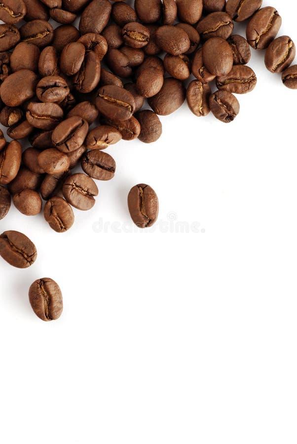 Feijões de café dois imagem de stock royalty free