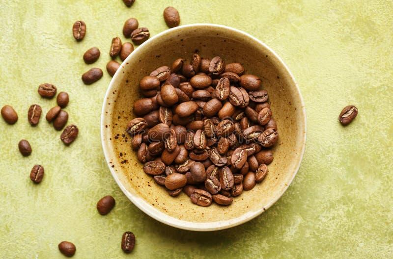 Feijões de café frescos foto de stock royalty free