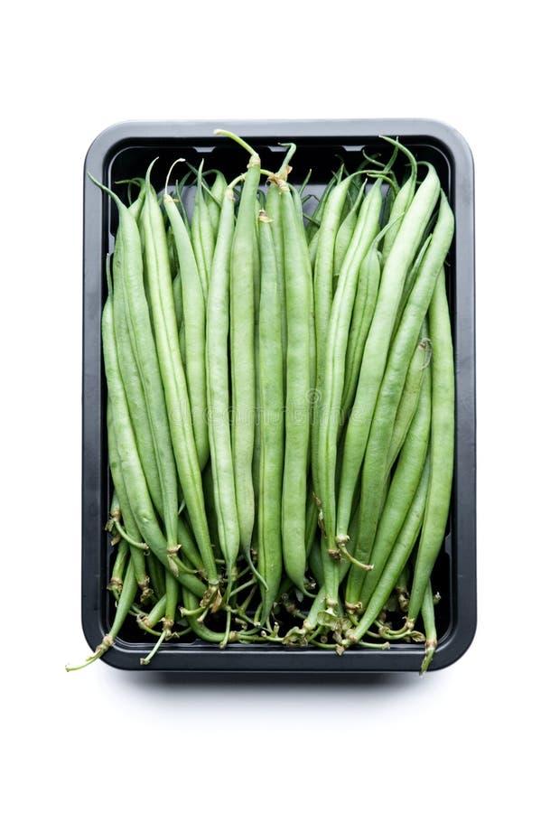 Feijões verdes franceses imagem de stock