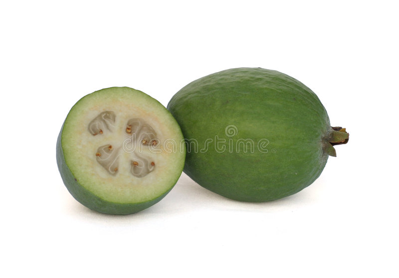 Feijoa (goyave d'ananas) images stock