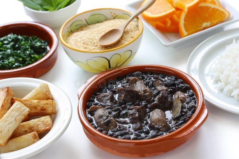 Feijoada, cucina brasiliana immagini stock libere da diritti