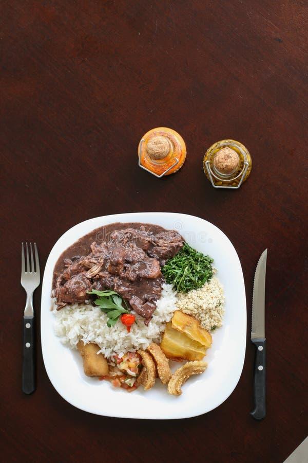 Feijoada, la nourriture typique brésilienne photographie stock