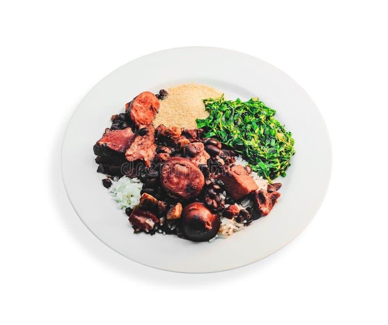 Feijoada, typowa Brazylijska kuchnia fotografia stock