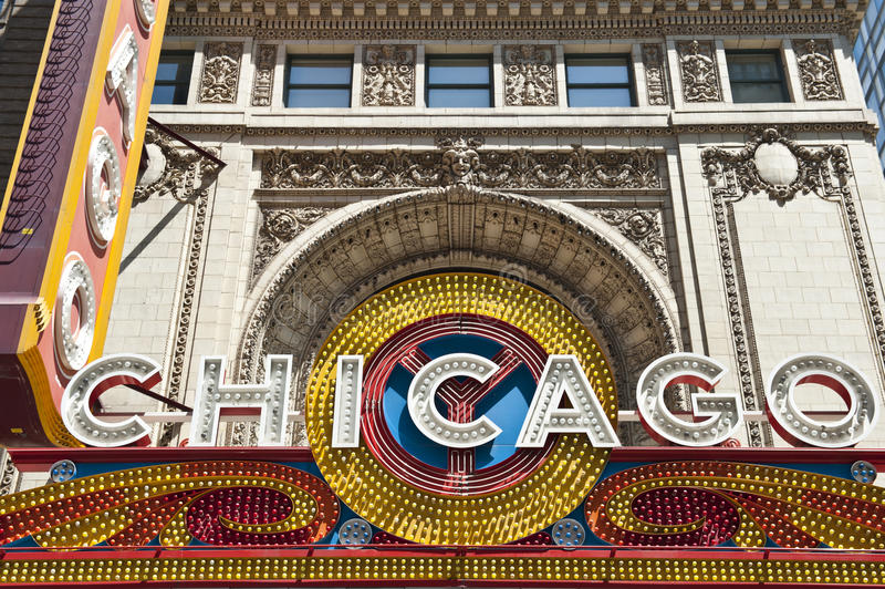 Feine Architektur in Chicago lizenzfreies stockfoto