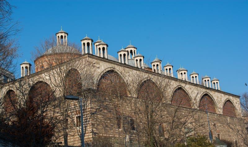 Feines Beispiel der Osmane Türkischearchitektur stockfotografie