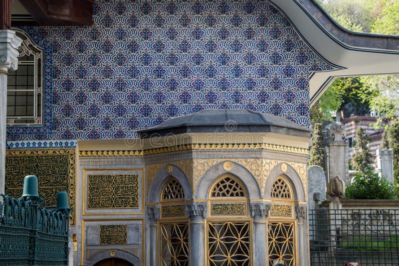 Feines Beispiel der Osmane Türkischearchitektur stockbilder