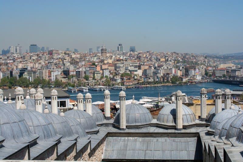Feines Beispiel der t?rkischen Turmarchitektur der Osmane stockfoto