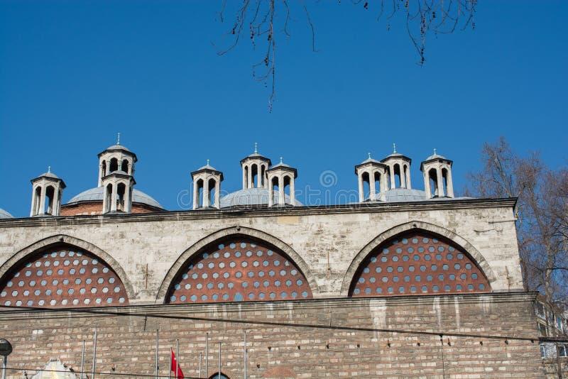 Feines Beispiel von türkischen Architekturfragmenten der Osmane stockbild