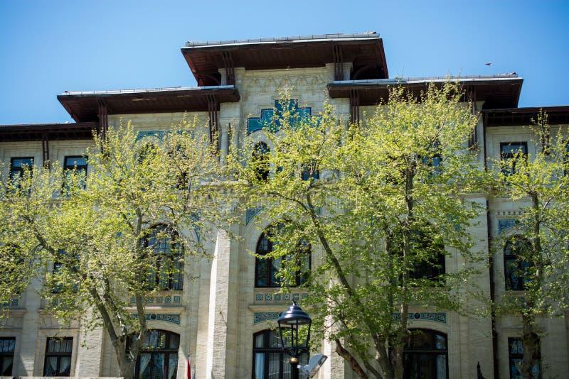 Feines Beispiel von türkischen Architekturfragmenten der Osmane lizenzfreie stockfotos