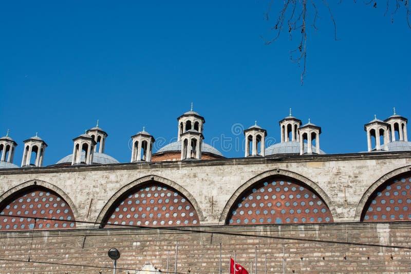 Feines Beispiel von türkischen Architekturfragmenten der Osmane stockbilder