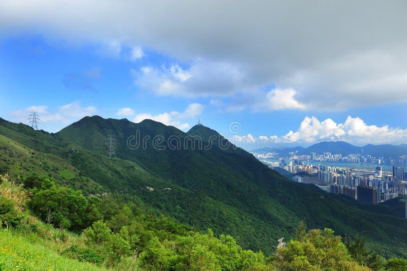 feingo Hong kong shan obrazy royalty free