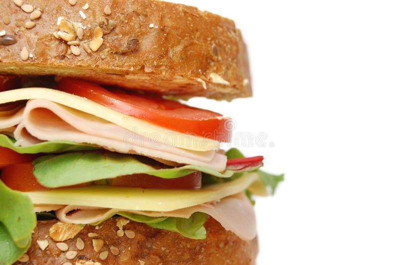 Feinkostgeschäftsandwich lizenzfreie stockbilder