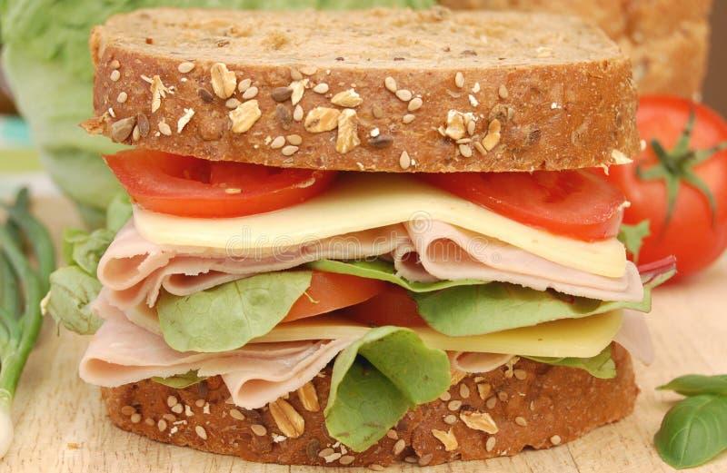Feinkostgeschäftsandwich stockbild