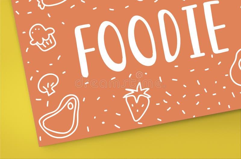 Feinschmeckerische Küche Foodie essen Mahlzeit-Konzept lizenzfreie stockfotos