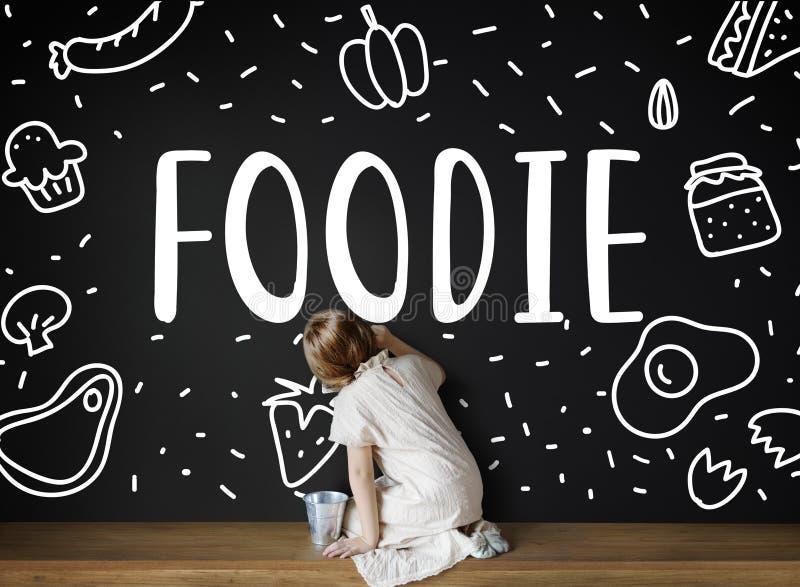Feinschmeckerische Küche Foodie essen Mahlzeit-Konzept stockfotografie