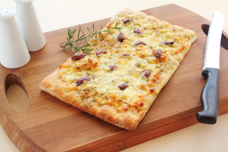 Feinschmeckerische Pizza stockfotos