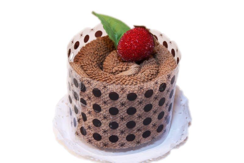 Feinschmeckerischer Schokoladen-Nachtisch stockfoto