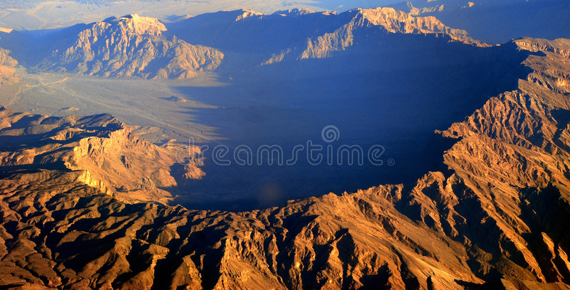 feintes de montagne photo libre de droits