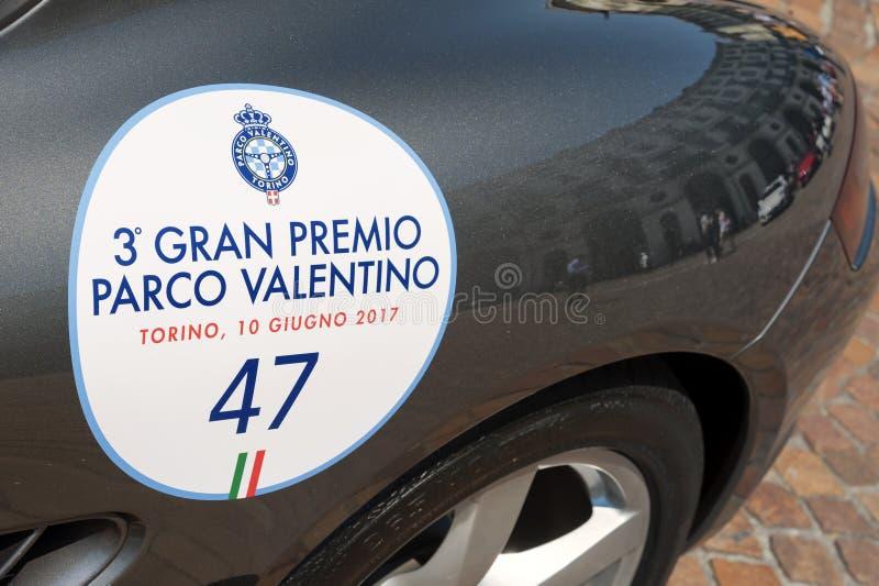 Feira automóvel de Torino - terceira edição 2017 fotografia de stock