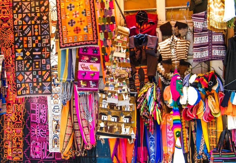 Feira boliviana imagem de stock royalty free