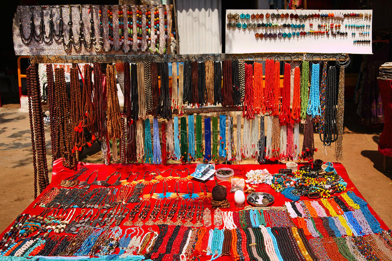 Feira da ladra em India foto de stock royalty free