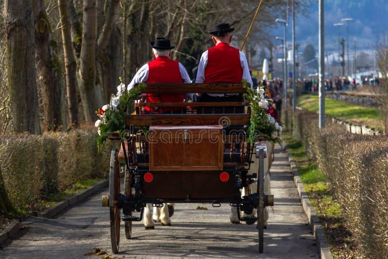 Feira de cavalo Alemanha Ocidental sul imagens de stock royalty free