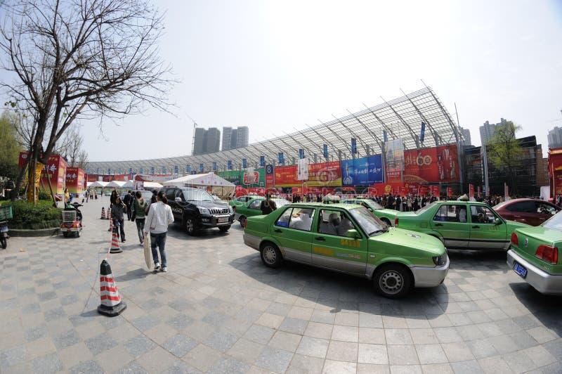Feira de comércio 2012 de productos do açúcar e do alcoólico fotografia de stock