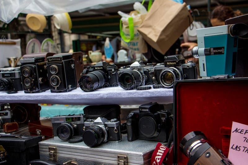 Feira de San Telmo - l'Argentina fotografia stock libera da diritti