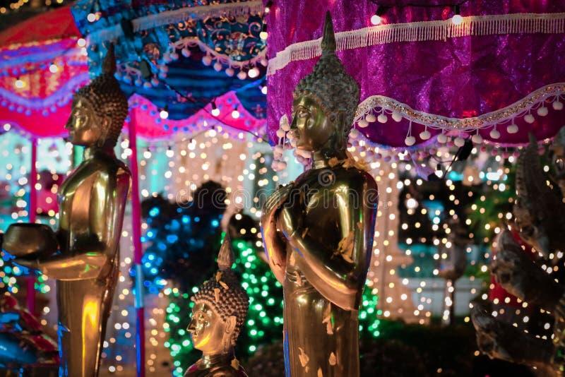 Feira do templo, Koh Samui Thailand fotografia de stock