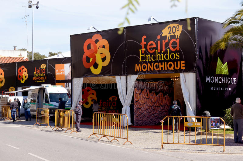 Feira enchados Monchique    obraz royalty free